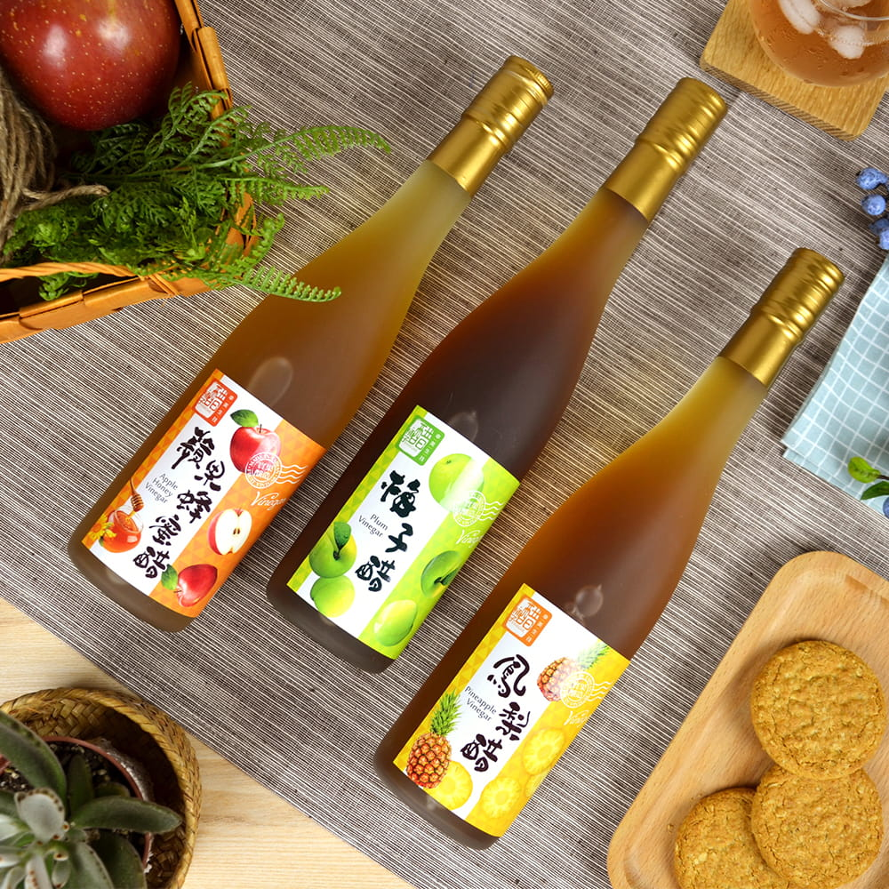 【醋桶子】實果釀造水果醋禮盒 0